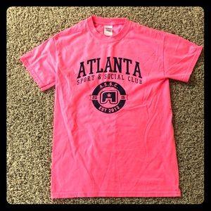 Tops - Atlanta Social Club Tee. Size S
